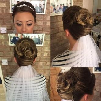 rachel bridal hair